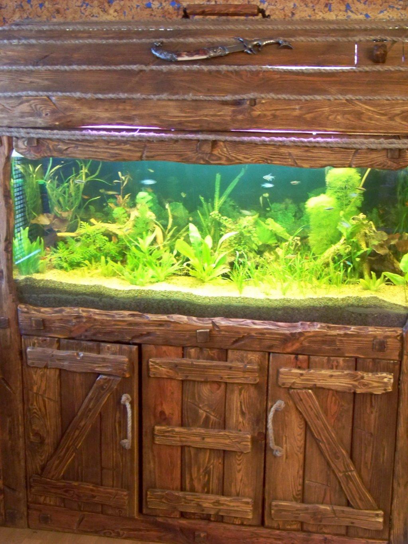 Изготовление тумбы под аквариум своими руками