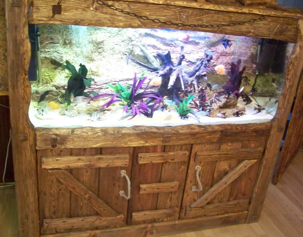 Тумба под аквариум своими руками 17