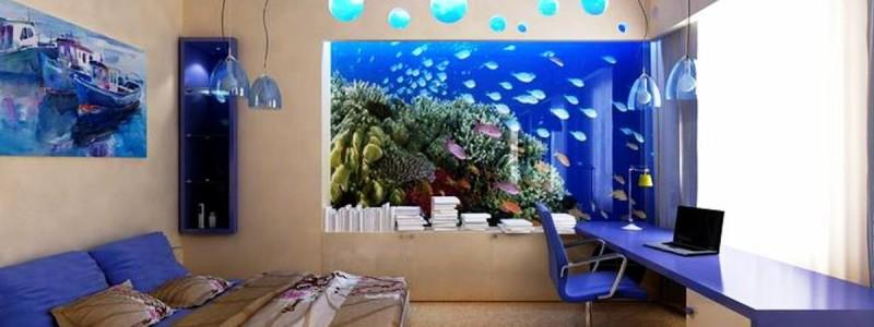 Фотогалерея Прямоугольных аквариумов